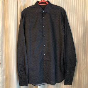 John Varvatos 'LUXE' patterned dress shirt